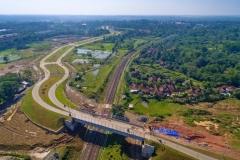 Flyover and Boulevard Utama ROW 40