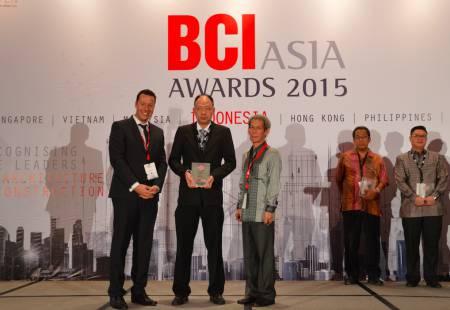Grup Ciputra Masuk Top 10 Developers Versi BCI Asia Awards 2015
