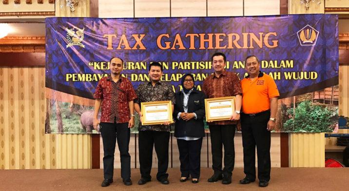 Citra Maja Raya JO Dan PT Citra Benua Persada Raih Penghargaan Dari DJP Banten