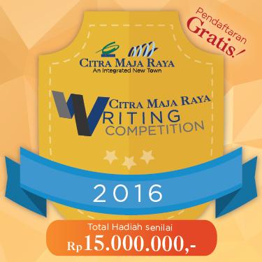 Citra Maja Raya Writing Competition 2016 Diikuti Ratusan Blogger Nasional