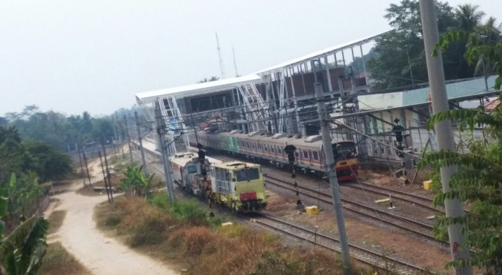 Pembangunan Tiga Stasiun Jalur Tanah Abang-Maja Dijadwalkan Selesai April