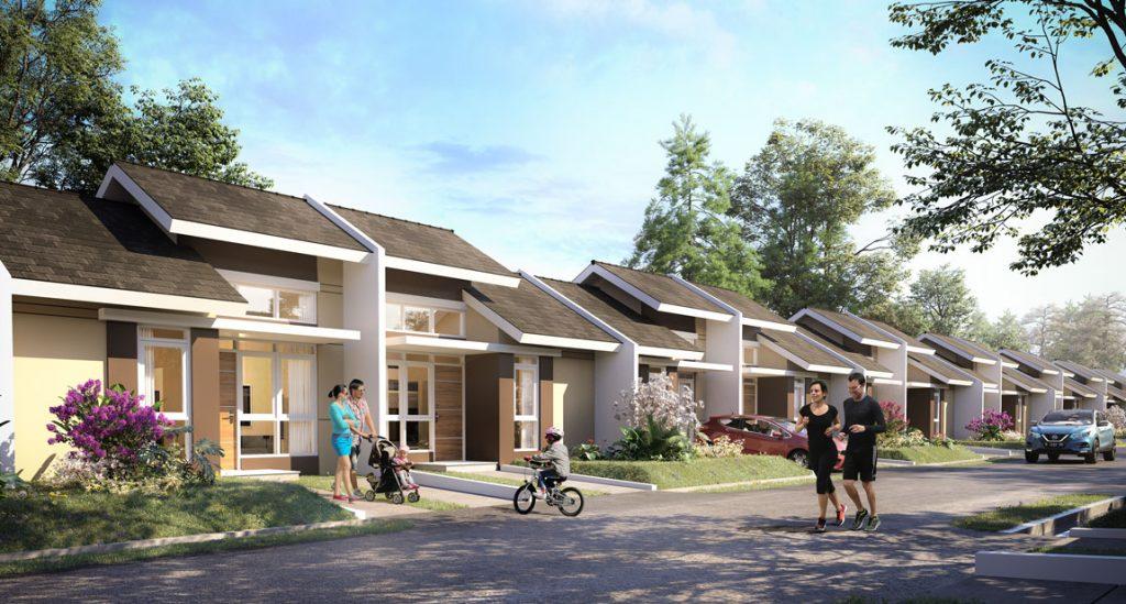 beli rumah murah di Tangerang Citra Maja Raya