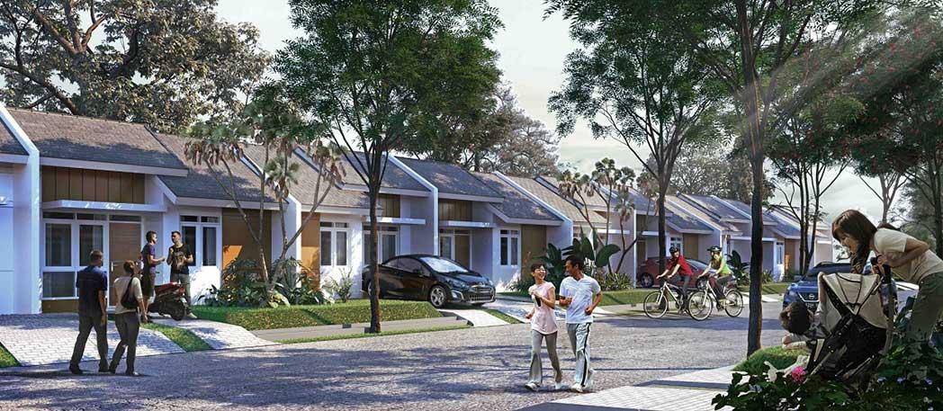 Unit Residential, Rumah di Citra Maja Raya