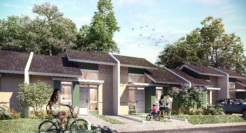 Rumah di Cluster Sanur, Tipe Soka