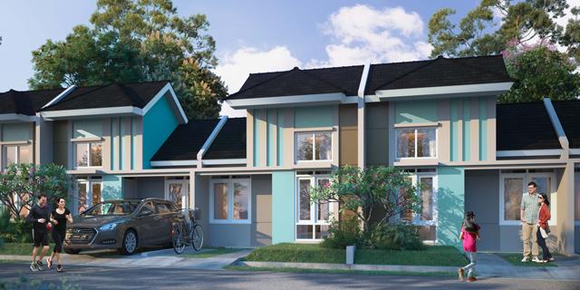 Rumah Cluster Benoa, Tipe Ruellia C
